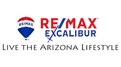 RE/MAX Excalibur Live The Arizona Lifestyle logo